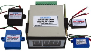 Belt Watch Indication System Master and Sensor units