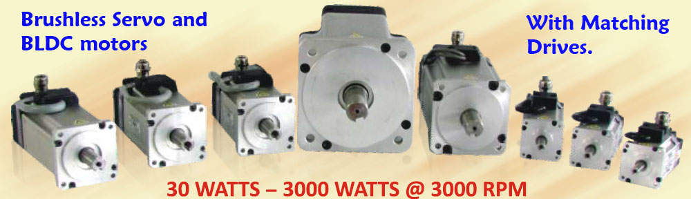 BLDC and Servo Motors